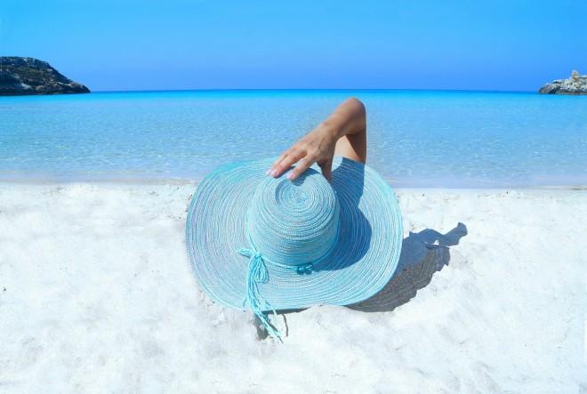 sunce, sunčanje, šešir