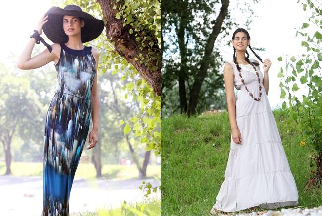 Duge haljine za dugo toplo ljeto