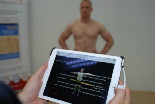 bodyrecog-aplikacija, naslovnica