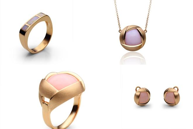 Opal i zlato iz Zlatarne Celje