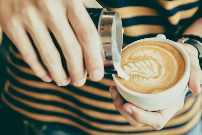 Opušteno i zabavno natjecanje Latte art throwdown