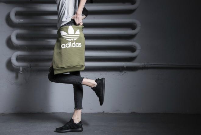 Poznata manekenka u novoj adidas Tubular kampanji
