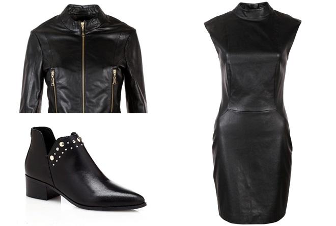 Crna elegancija od glave do pete