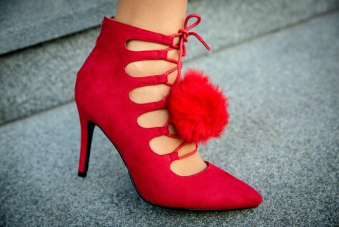 Pomponi i na cipelama