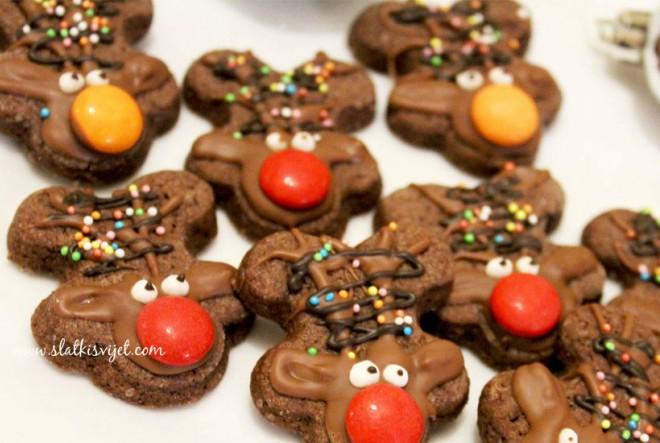 Rudolf božićni keksi