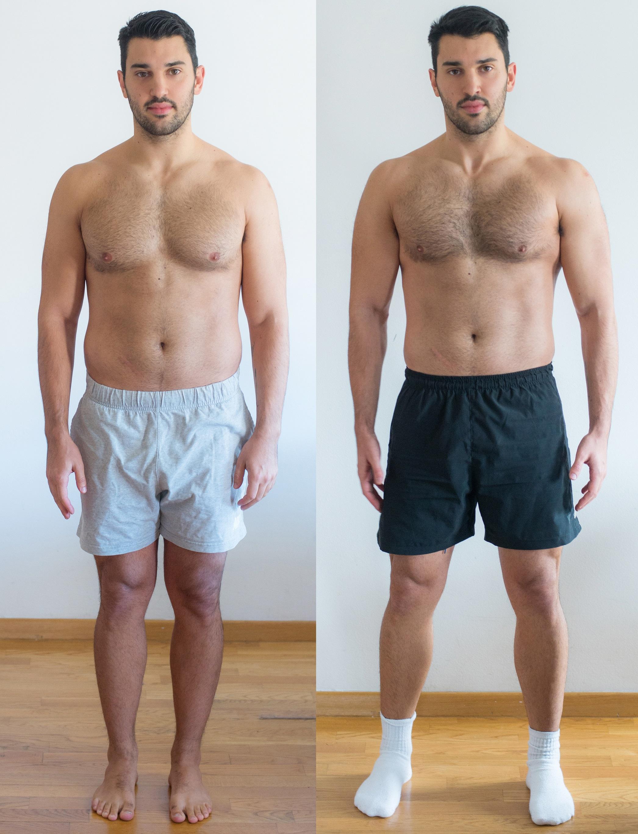 Prije i poslije 21 dan