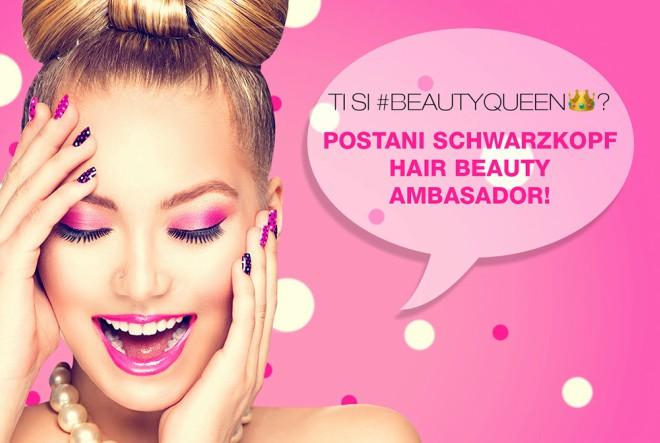 Postani Schwarzkopf Hair Beauty Ambasador!