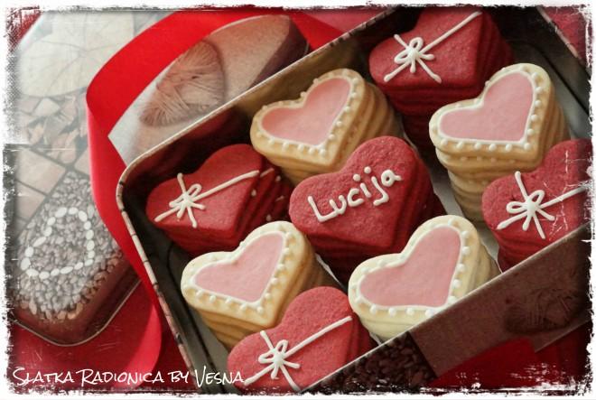 Vesnini ukusni keksići za Valentinovo!
