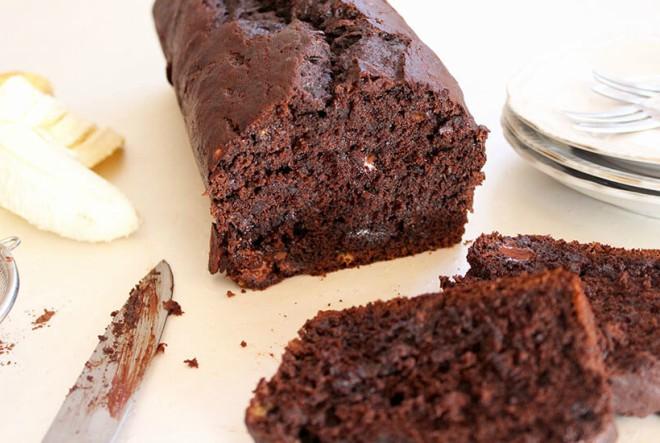 Zdravi čokoladni kolač s bananama