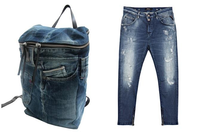Jeans kultura u urbanim kombinacijama
