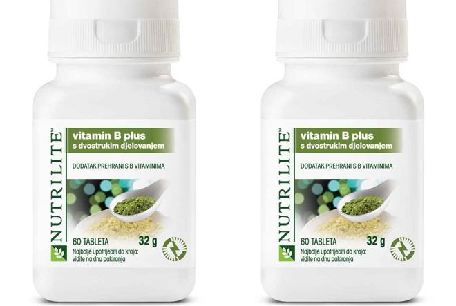 Amway NUTRILITE vitamin B ne dozvoljava umoru da pobijedi