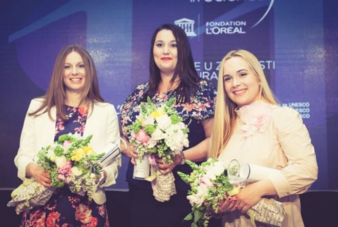 """Četiri mlade znanstvenice postale nove stipendistice prestižnog programa """"Za žene u znanosti"""""""