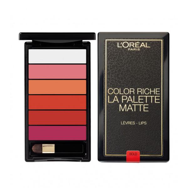 color-riche-la-palette-mate-paleta-para-labios