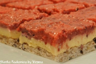 Kocke s jagodama i suhim šljivama