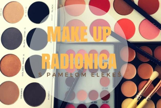 Make-up radionica s Pamelom Elekeš u suradnji s Kryolanom