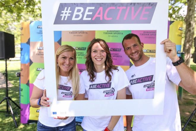 #BeActive! Janica Kostelić, Damir Martin, Maida Arslanagić i Pero Kuterovac  najavili Europski tjedan sporta u Hrvatskoj