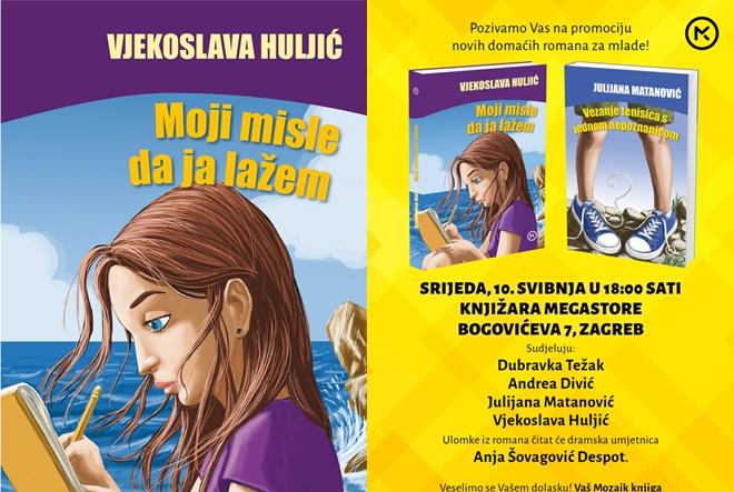 Vjekoslava Huljić: Znala sam da će moj život biti riječi