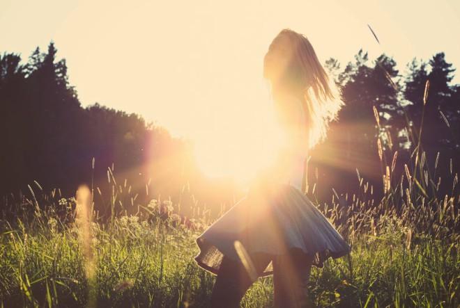 Djevojke u ljetnim haljinama…