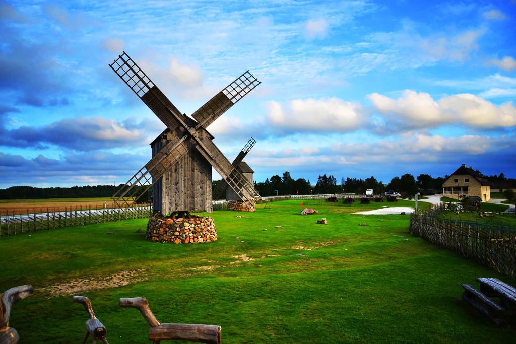 Windmills in Angla - Saaremaa island