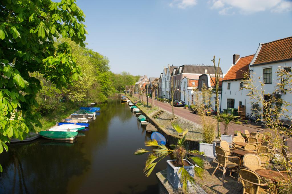 Typical little village in Holland called Naarden vesting