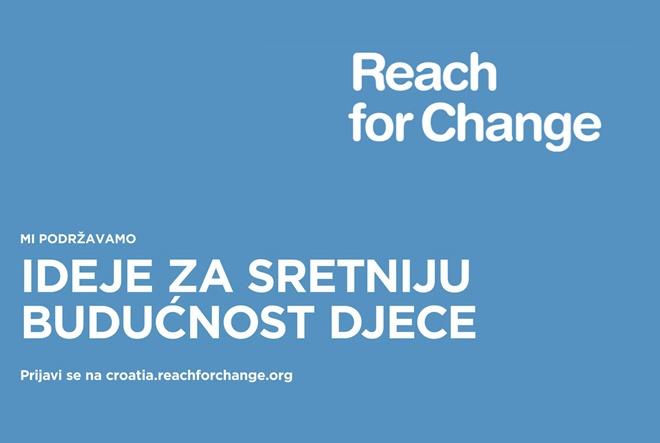 "Natječaj ""Budi promjena"" zaklade Reach for Change i Tele2"