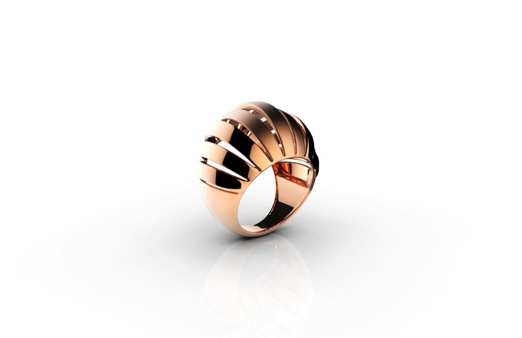 Argentum, srebrni prsten sa crvenom pozlatom, redovna cijena 910 kn_cijena s popustom 546 kn