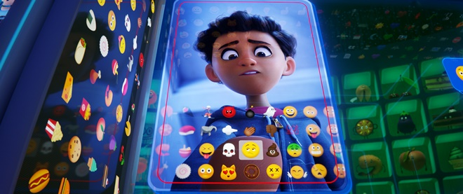 Alex (Jake T. Austin) in Columbia Pictures and Sony Pictures AnimationÕs THE EMOJI MOVIE.