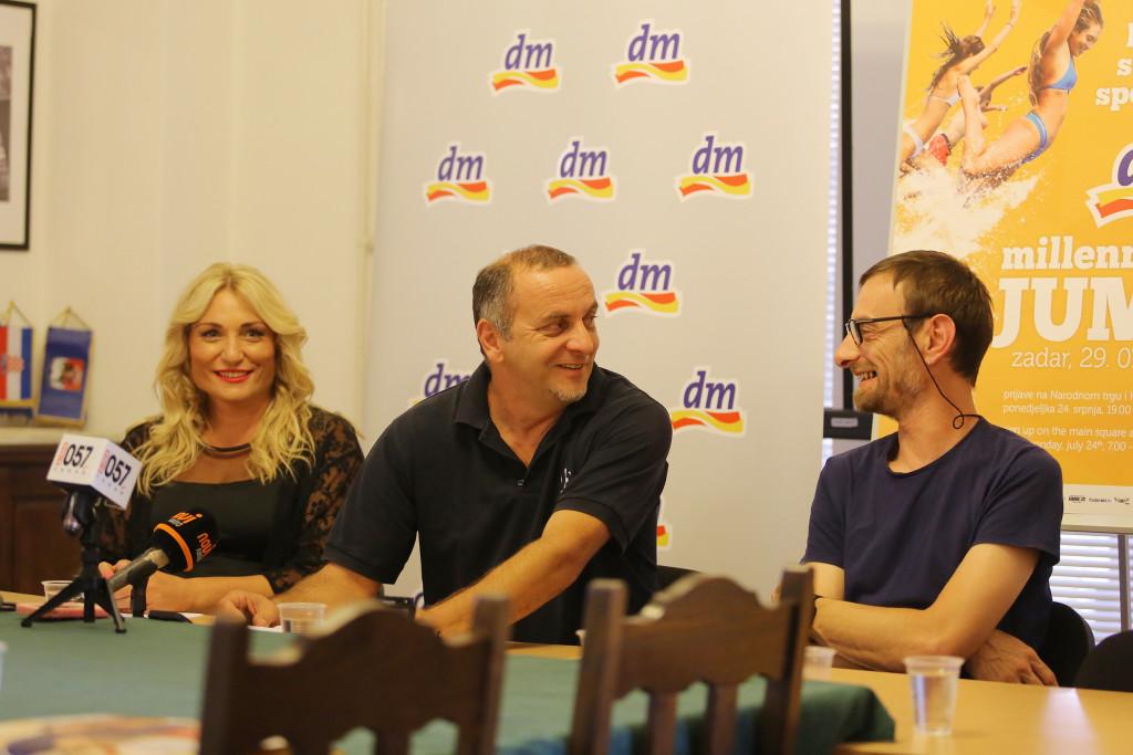Hana Matic, Neven Stojaković i Mladen Masar
