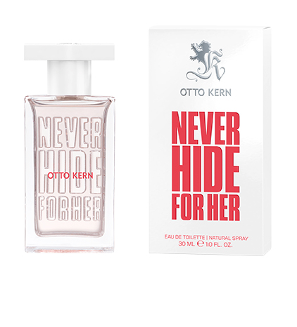 OTTO KERN_NEVER HIDE_Woman_EDT_30ml_Flacon_Box_view1