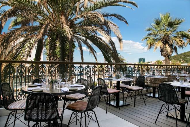 Restoran s pričom u kolijevci povijesti grada Splita