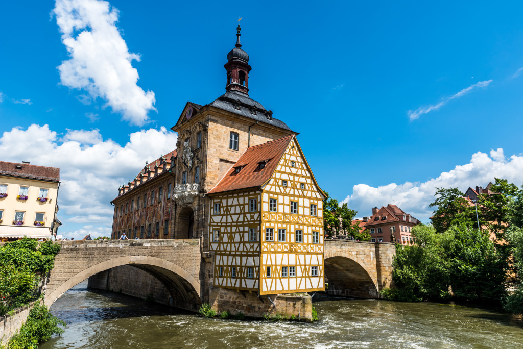 Bamberg - sights in historical city in germany