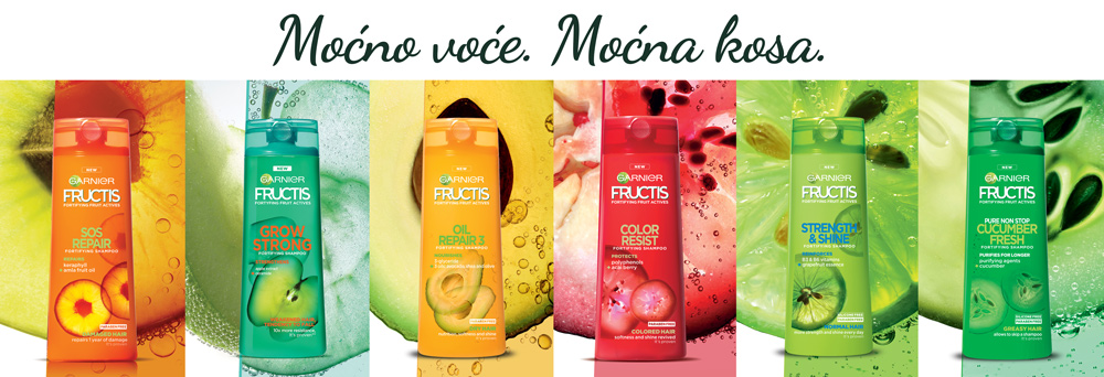 Fructis Moćno voće Moćna kosa