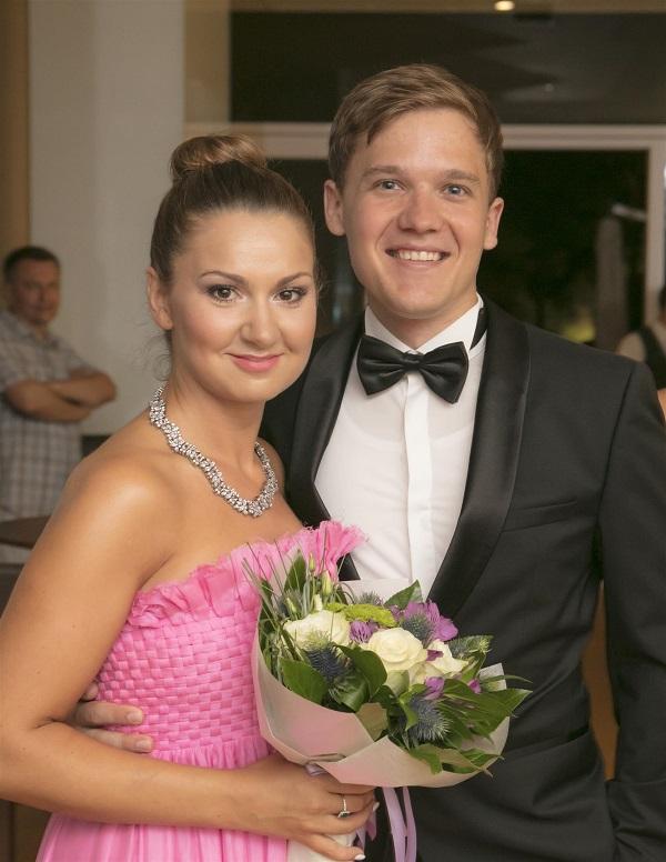 Lana Kos i Leon Košavić nakon nastupa
