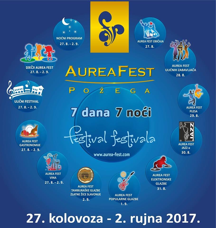 Plakat Aurea fest