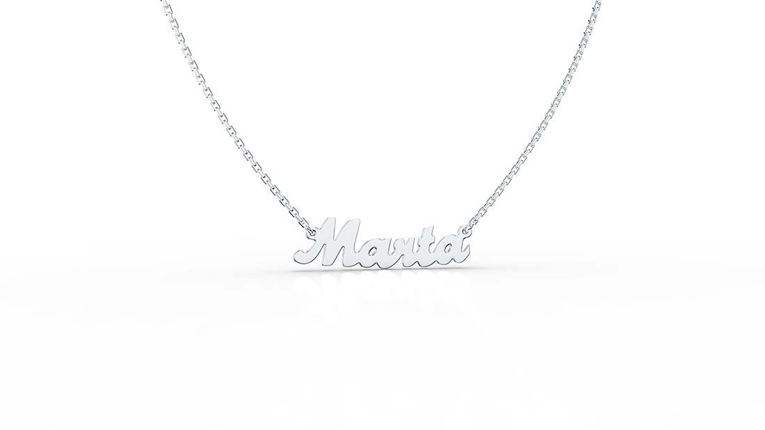 Zaks, srebrna ogrlica sa imenom, redovna cijena 240,00kn
