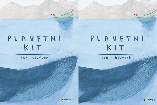 Nova slikovnica u izdanju Planetopije: Plavetni kit