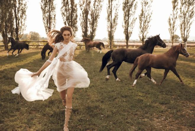 Romantika utkana u prvu kolekciju vjenčanica by Larie