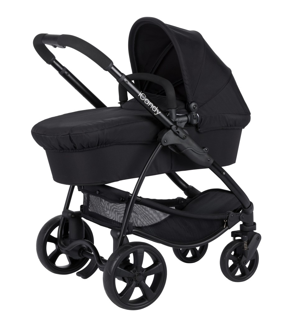 iCandy Strawberry 2 Carrycot Black ANTHRACITE IC1170