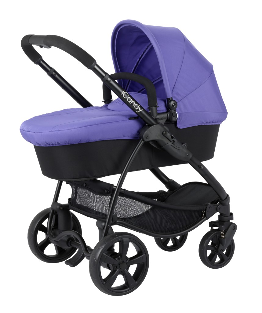 iCandy Strawberry 2 Carrycot Black PRISM IC1175