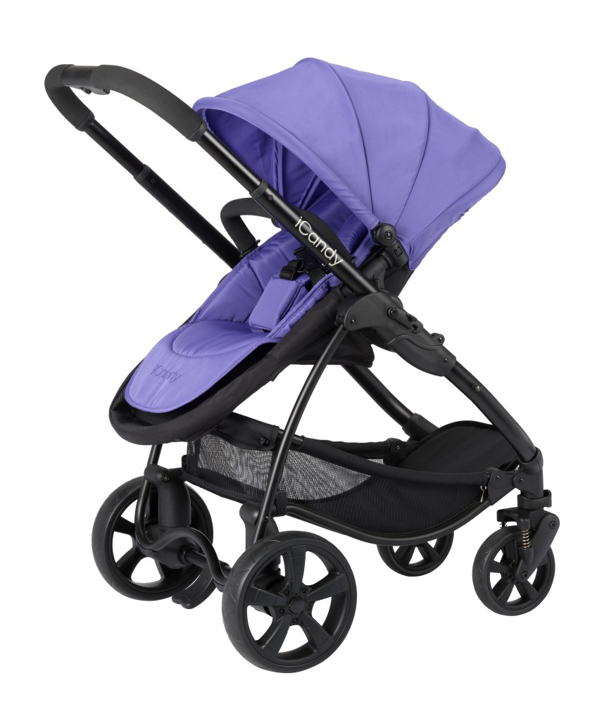 iCandy Strawberry 2 Pushchair Black PRISM IC1175