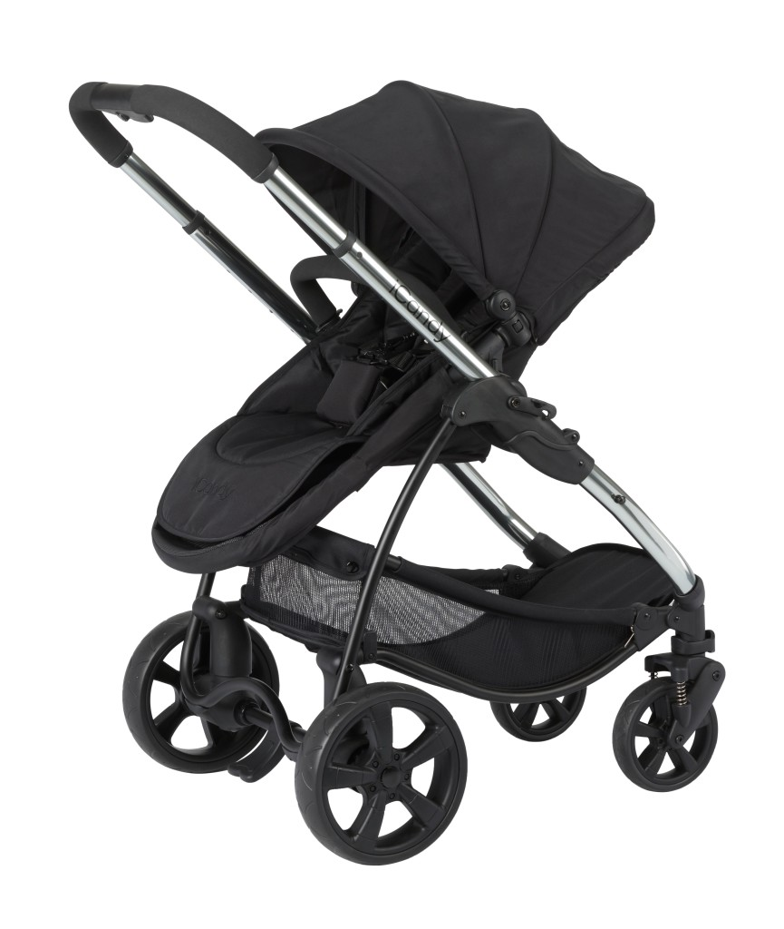 iCandy Strawberry 2 Pushchair Chrome ANTHRACITE IC1192