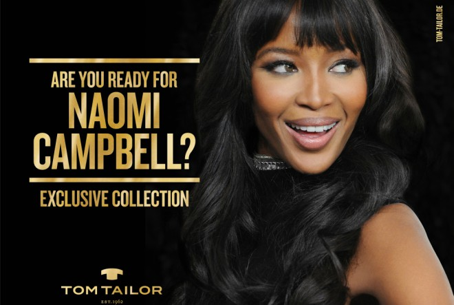 Naomi Campbell – idealna žena Tom Tailor brenda