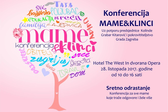 """Konferencija """"Mame&klinci"""" – za mame koje žele više i bolje"""