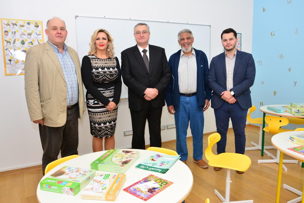 Marijan Božić, Suzana Cukrov, Muftija zagrebački Aziz Hasanović, Hatim Abdel Hamid i Idriz Hasanović