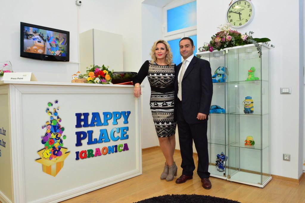 Suzana Cukrov sa suprugom Salvatoreom Aliotom