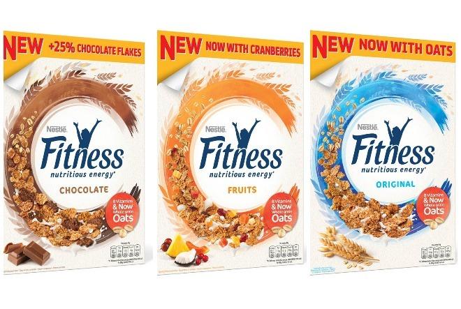 Nove Nestlé FITNESS žitarice