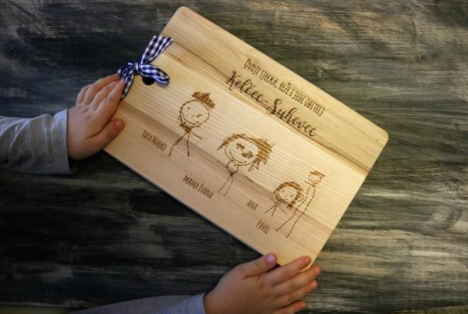 Personalizirane daske s crtežom vašeg djeteta