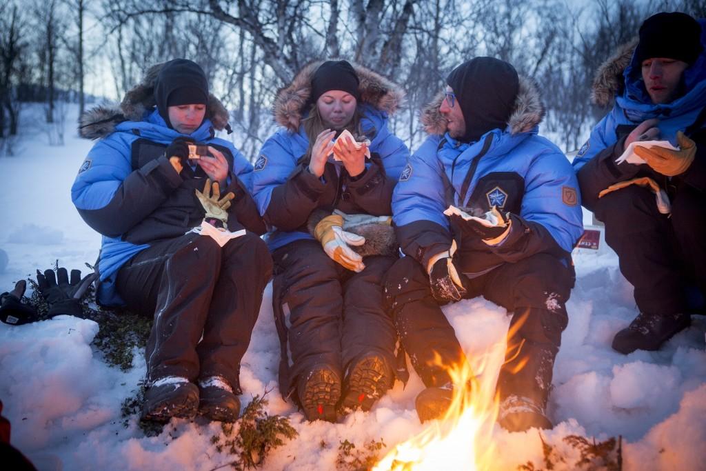 Polar campfire