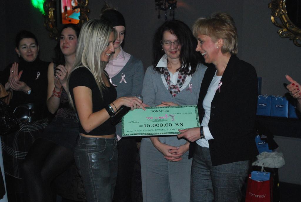 Doc.dr.sc. Vesna Andrijević-Matovac, osnivačica Udruge Sve za nju, preminula 2011. godine.