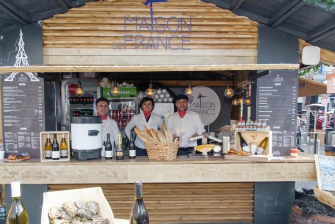 Maison de France –  Kuća vrhunske francuske gastronomije na središnjem trgu glavnoga grada